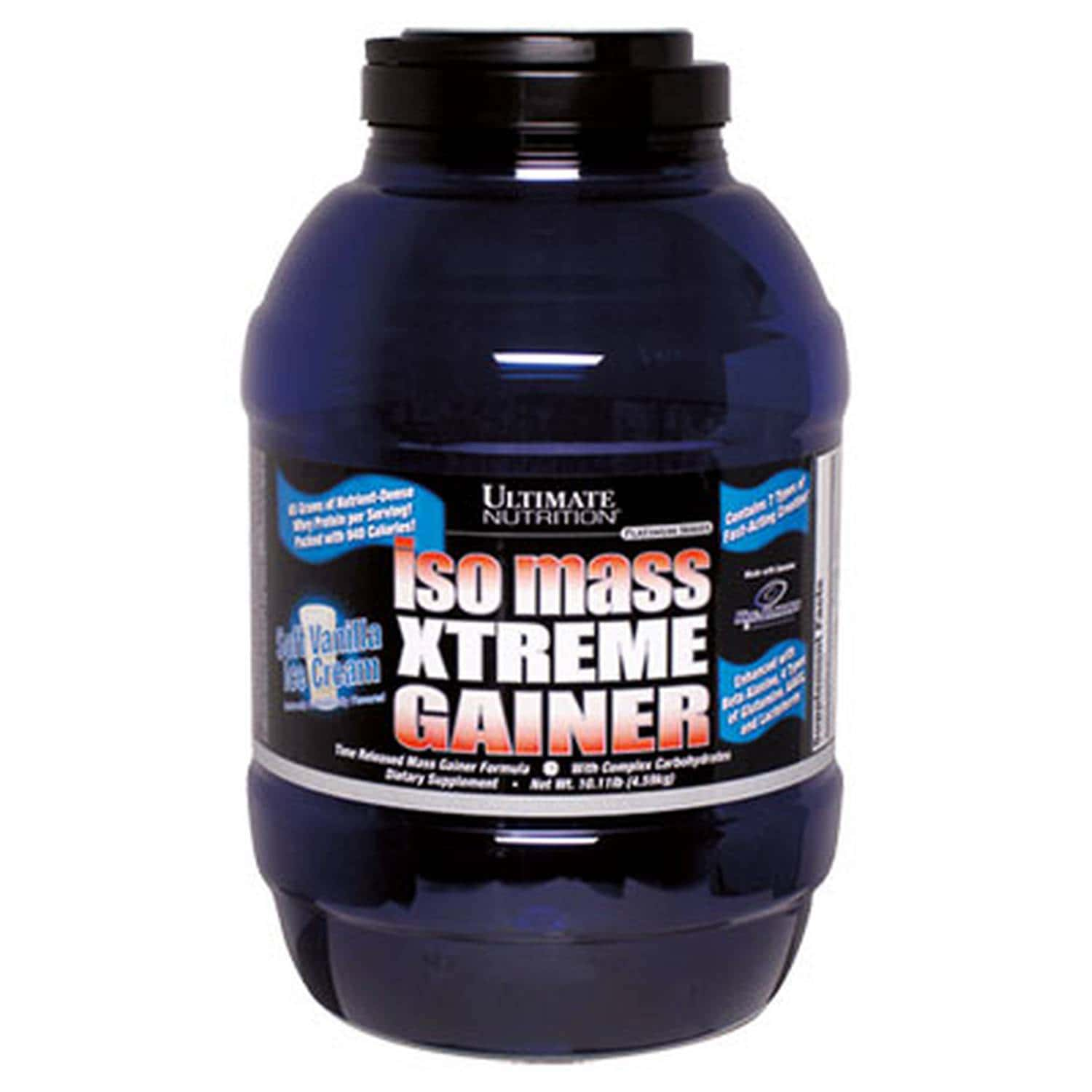 Ultimate Nutrition ISO Mass Xtreme Gainer 4590 гр