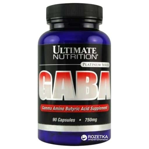 Ultimate Nutrition GABA 750 mg (90 капс.)