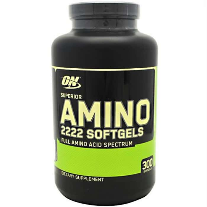 Optimum Nutrition Super Amino soft gels 2222 (300 капсул)