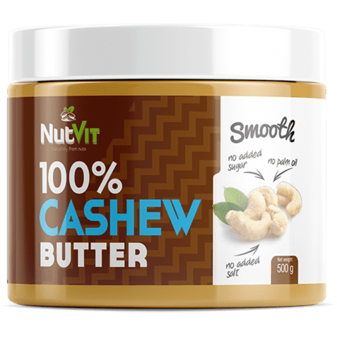 OstroVit 100% CASHEW BUTTER SMOOTH (Кешью) 500 гр