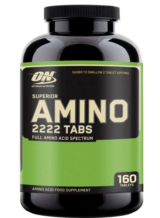 Optimum Nutrition Super Amino 2222 (160 таб)