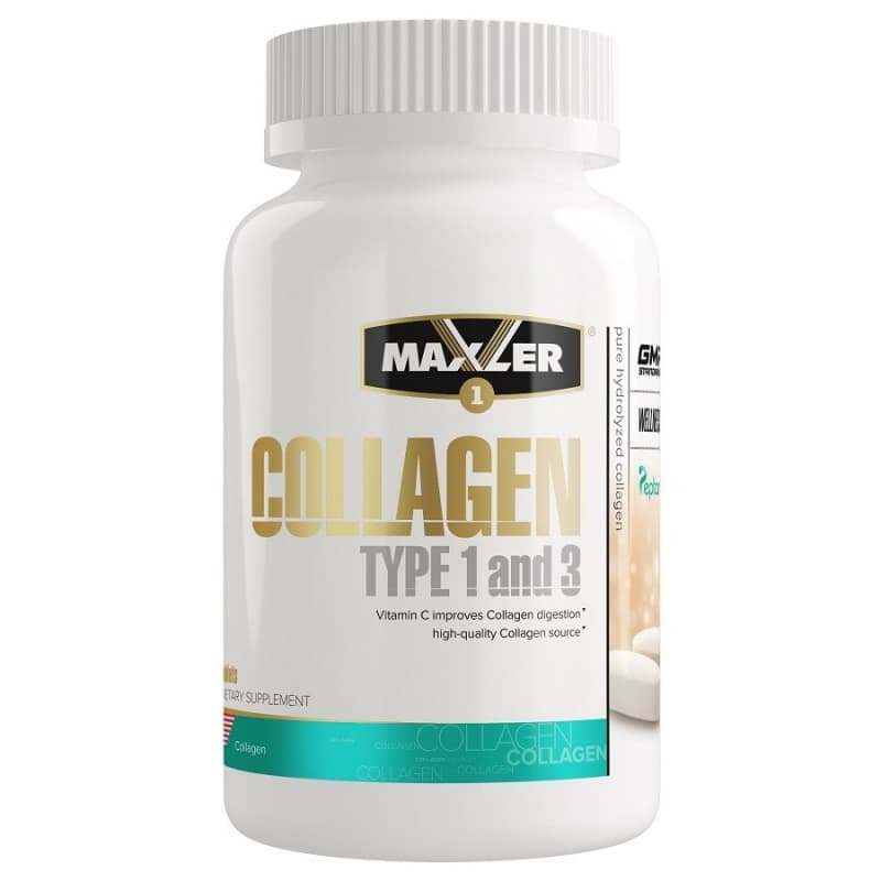 Maxler Collagen Type I & III 90 табс