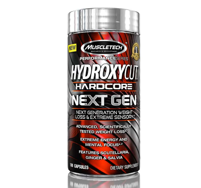 MuscleTech Hydroxycut Hardcore Next Gen 100 капсул