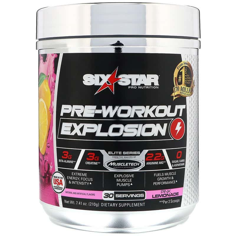 Six Star Pre-Workout Explosion 30 порций