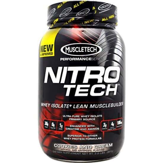 MuscleTech Nitro-Tech Performance Series 0.9 кг