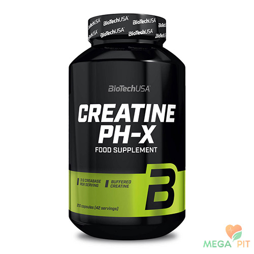 BioTech CREATINE pH-X 210 капс