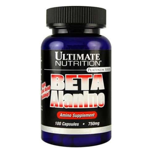 Ultimate Nutrition  Beta Alanine 750 mg (100 капсул)