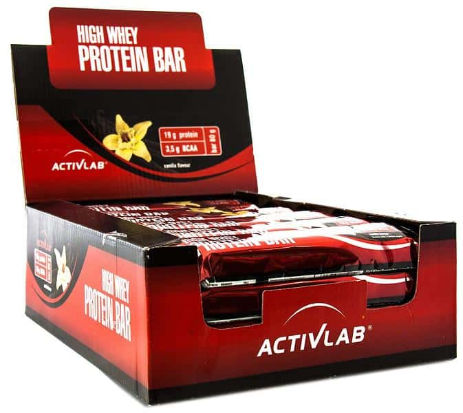 ActivLab High Whey Protein Bar 24*80гр