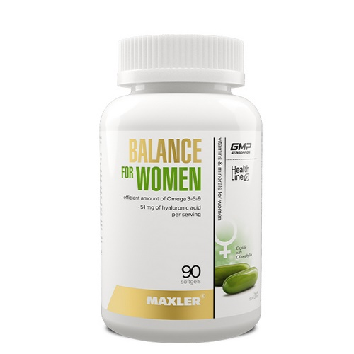 Maxler Balance for Women 90 гел. капсул