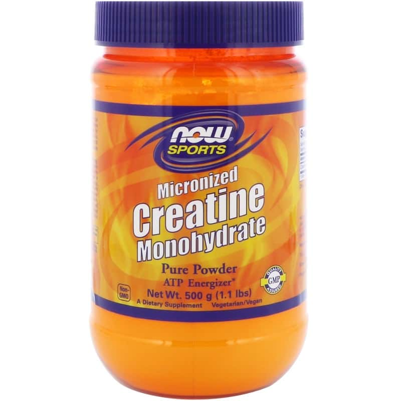 NOW Creatine Monohydrate 100% Pure Powder 600 гр.