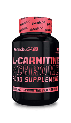 BioTech USA For Her L-Carnitine + Chrome 60 капсул