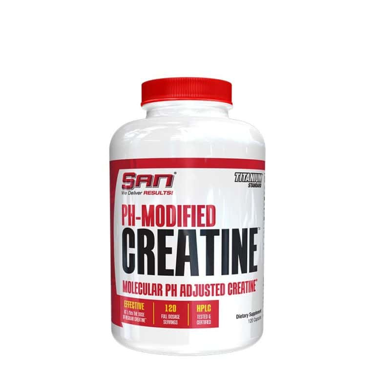 SAN PH Modified Creatine 120 капсул