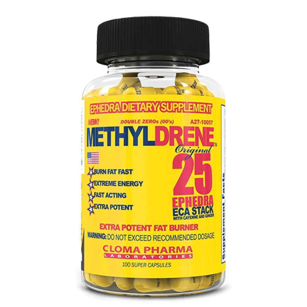 Cloma Pharma Methyldrene 25, 100 капсул