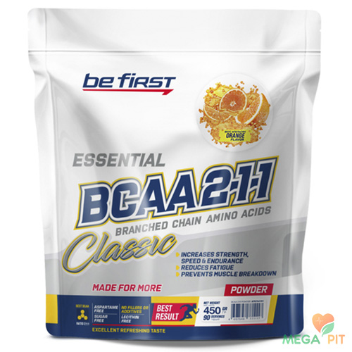 Be First BCAA 2:1:1 CLASSIC powder 450 гр