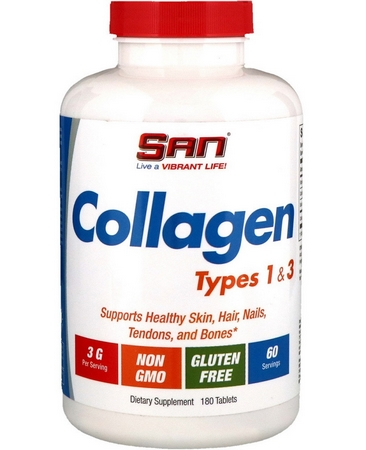 SAN Collagen Types 1 & 3, 180 табл.