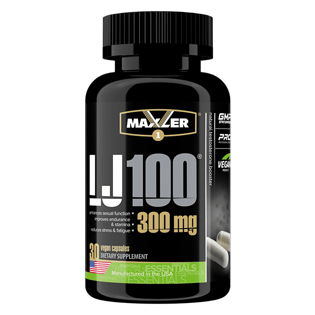 Maxler LJ100 Tongkat Ali Extract 30 капс