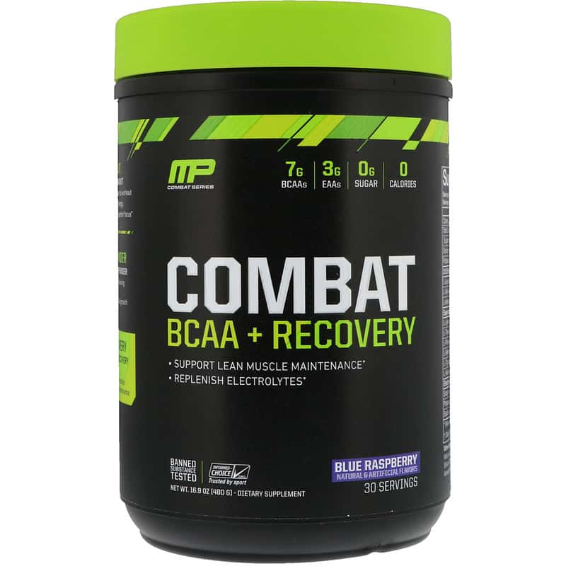 MusclePharm Combat BCAA + Recovery, 480 гр
