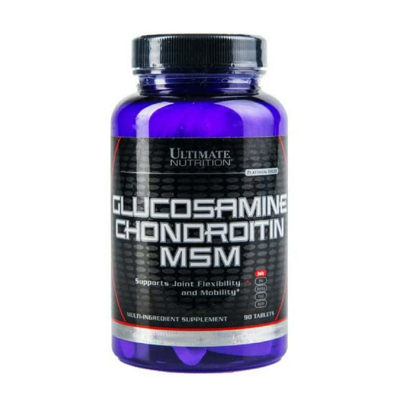 Ultimate Nutrition Glucosamine Chondroitin MSM 90 (таблеток)