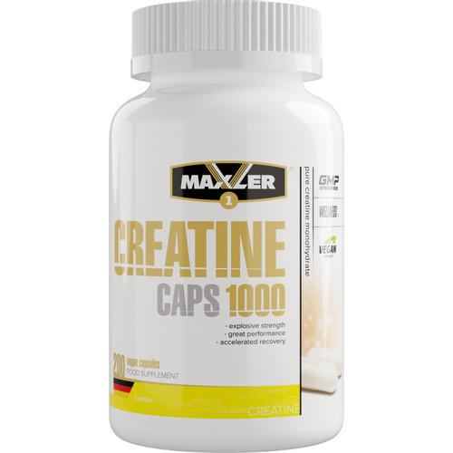 Maxler Creatine Caps «1000» 200 капсул